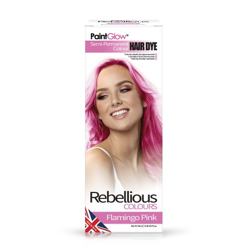 Flamingo Pink - Semi Permanent Hair Dye 70ml